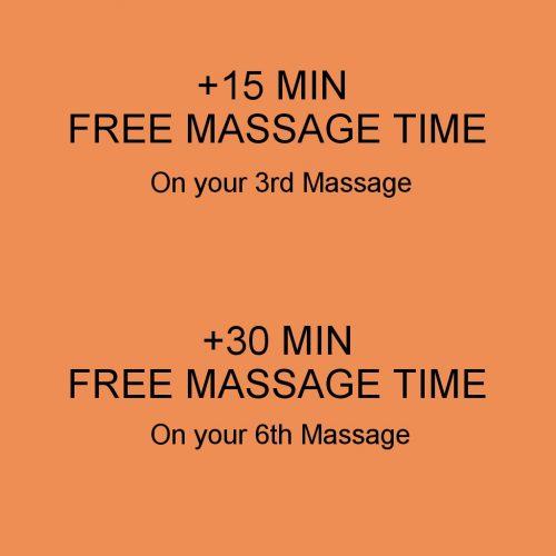 Mobile Massage Loyalty scheme